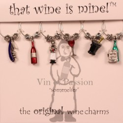 Wine charm - Sommelier