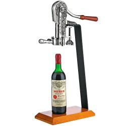 Legacy Corkscrew with table stand (antique pewter)