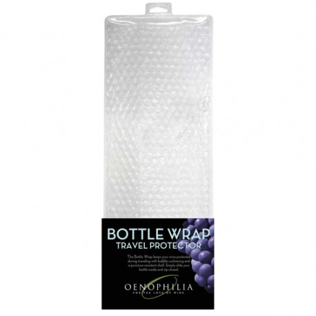 Bottle wrap travel protector