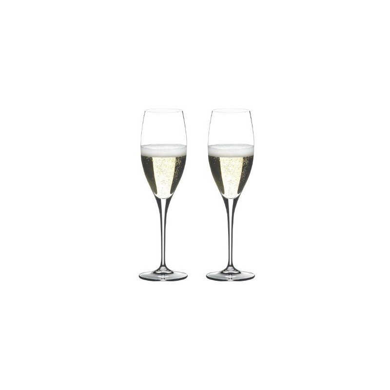 riedel heart to heart champagne lot de 2 vin et passion web. Black Bedroom Furniture Sets. Home Design Ideas