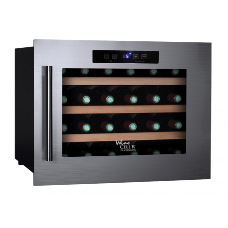 Cellier Wine Cell'R 24 bouteilles, 1 zone, WC-24 SS