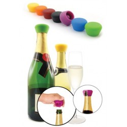 Silicone Sparkling Wine Stoppers (2)