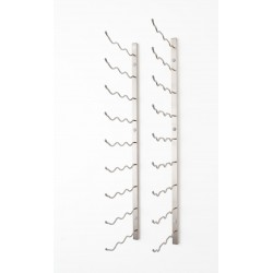 27 Bottles Wall Mounted Rack