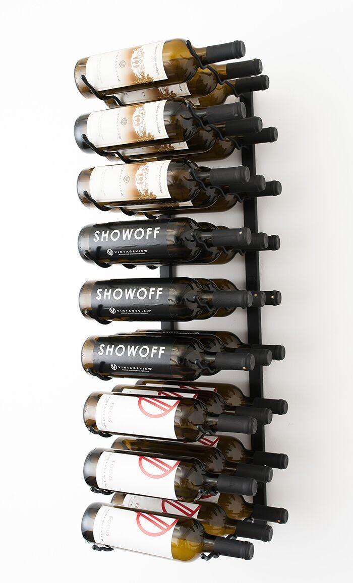 Support A Bouteille De Vin Mural support mural 27 bouteilles - vin et passion web