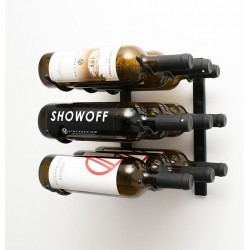 9 Bottles Wall Mounted Rack