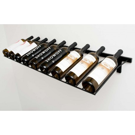9 Bottles Wall Mounted Presentation