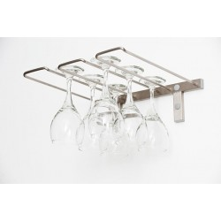 6 Wine Glasses Wall Mounted Rack