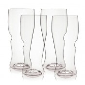 Set of 4 Beer Glass in Polymer