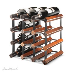 12 Bottles Wine Rack