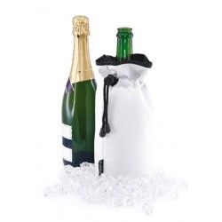 Wine and Champagne Cooler Bag White