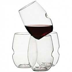 Set of 4 Wine Glass in Polymer