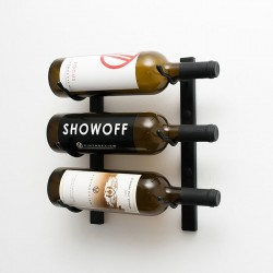 3 Bottles Wall Mounted Rack