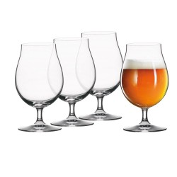 Set of 4 Beer Tulip Glass