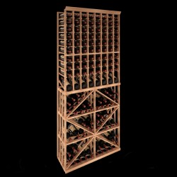 176 Bottles Kit Rack (Individual & Slat) - Grand Cru