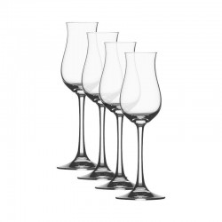 Set of 4 Digestive Glass