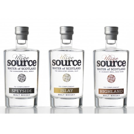 Set of 3 Water for Whisky