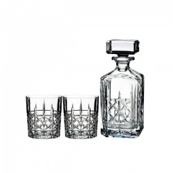 Whisky Decanter with 2 Glasses