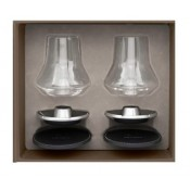"Set of 2 Whisky ""Impitoyables"" Glass"