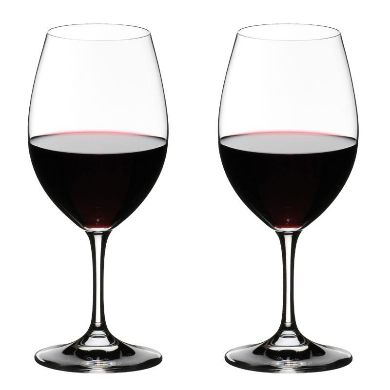 Ens 2 Verres Riedel Ouverture Vin Rouge