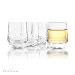 Set of 4 Crystal Saké Glasses