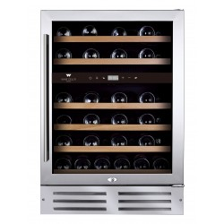 Cellier Wine Cell'R 46 bouteilles, 2 zones, WC-46 SSPRO2