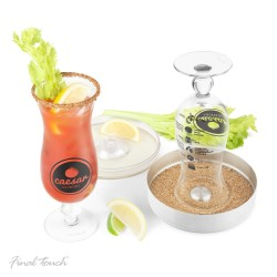 Ensemble cocktail Caesar