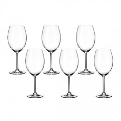 Set of 6 Universal Foot Glasses