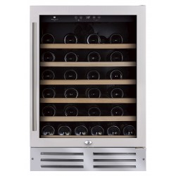 Wine Cell'R - 46 bottles, 2 zones, WC-46 SSPRO2