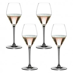 Set of 4 Riedel Rosé Glasses