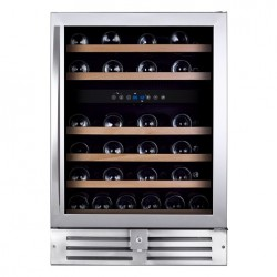 Wine Cell'R - 46 bottles, 2 zones, WC-46 SSPRO