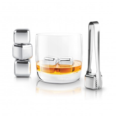 Stainless steel ice cube, Vin & Passion