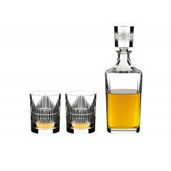 Riedel Whisky decanter with 2 glasses - Shadows