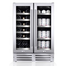 Wine Cell'R - 46 bottles, 2 zones, WC-46 SSDZ