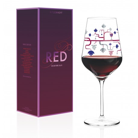 Red Wine Glass Red Ritzenhoff 3000026