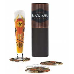 Beer Glass Black Label Ritzenhoff 1010243