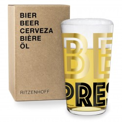 Beer Glass Beer Ritzenhoff 3510004 Justus Oehler/Pentagram 2017