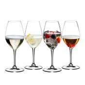 Set of 4 Riedel Champagne Glasses