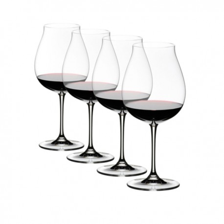 Set of 4 Riedel Pinot Noir Wine Glasses