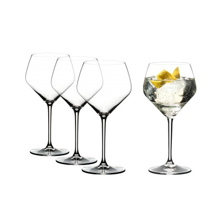 Set of 4 Riedel Gin Tonic Glasses