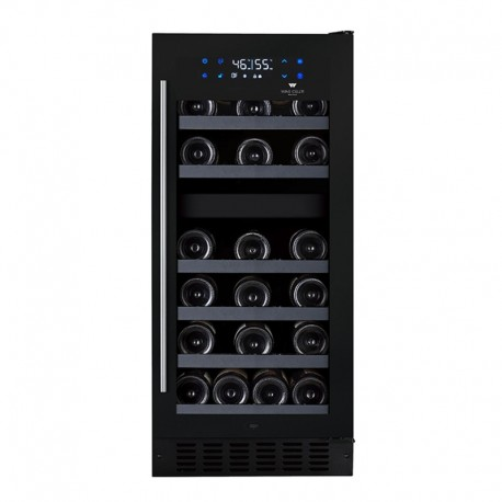 Wine Cell'R Black Pearl Wine Cellar 26 Bottles 2 zones WC32FGB5 Wine & Passion