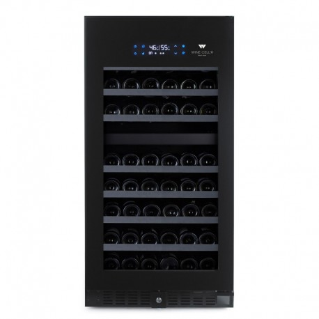 Wine Cell'R Black Pearl 89 Bottles 2 zones WC94FGB5 Wine & Passion