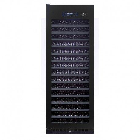 Wine Cell'R Black Pearl Wine Cellar 194 Bottles 1 zone WC194FGB5 Wine & Passion